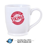 MUG - WHITE WITH RED IMPRINT KONA BISTRO MUG