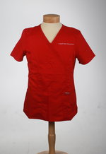 SCRUB TOP WMNS. RED CHEROKEE REVOLUTION CROSS BODY
