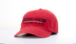 CAP - GRAND VIEW SHOOTING SPORTS - RED TWILL ADJUSTABLE BACK