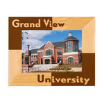 ALDERWOOD FRAME 5X7 LANDSCAPE WITH GRAND VIEW AND UNIVERSITY