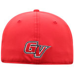 "CAP - RED BILL WITH BLACK ""PEPPER"" FRONT ONE SIZE"
