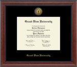 "MEDALLION SIGNATURE ""UNIVERSITY"" DIPLOMA FRAME"